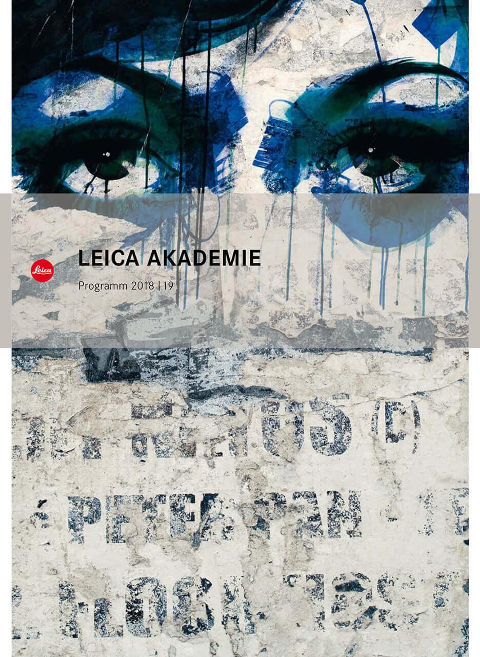 Cover Leica Akademie Programm 2018-2019