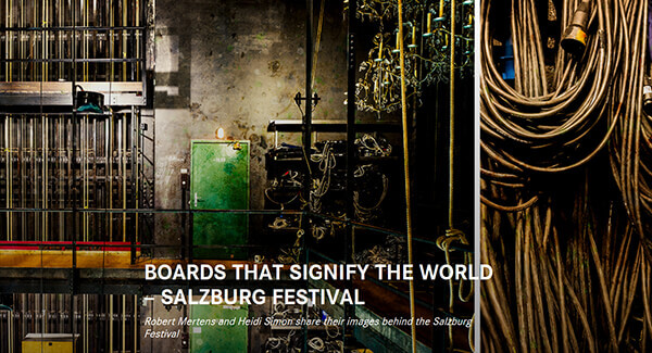 Leica Camera Blog: Robert Mertens and Heidi Simon share their images behind the Salzburg Festival