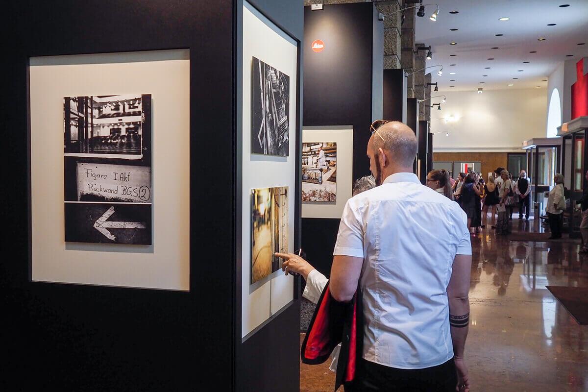 Salzburg exhibition opening