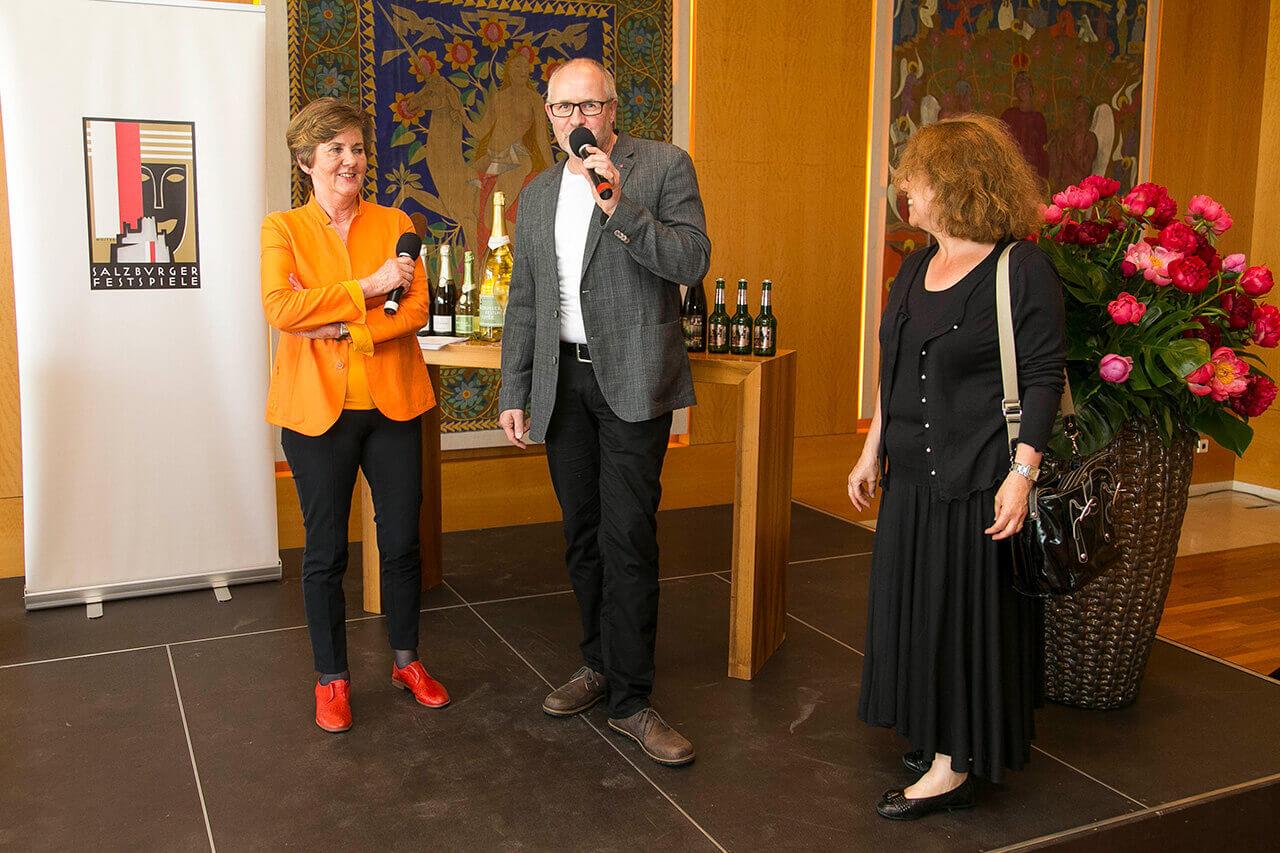 Salzburg Festival: Wine edition 2017 - Heidi + Robert Mertens